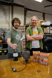 PowerPot inventors David Toledo and Paul Slusser