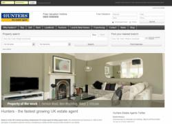 hunters UK estate agents