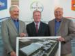 Lloyd McCall, Geoff Kneen and Al Balducchi (L to R) attended the Groundbreaking Event
