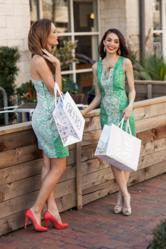 As part of a complete rebrand of her company, Dao worked with CRP to create custom designed shopping bags.