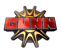 Gunn Chevrolet's logo on white background