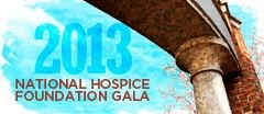 National Hospice Foundation annual gala, April 26