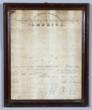 1818 Declaration of Independence, broadside.