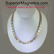 New Magnetic Necklace for Headaches Announces Superior Magnetics