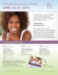 Fourth Annual Fibroid Awareness Week April 22-27 – Providing Hope for...