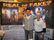 Co-Manager Chris Owens with Michael Madsen at the Genuine COA booth in New Orleans