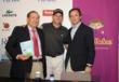 Fernando Pascual del Pobil of Albatross Golf Camp. Sergio Garcia, and PlayTales CEO Enrique Tapias