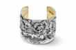 Created by Michael Galmer, The Morning Bloom Cuff features blooms opening to the sun