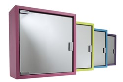 Coloured Bathroom Cabinets