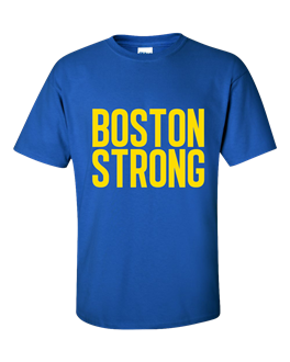 Turning tragedy into action boston strong t shirt goes viral for Boston strong marathon t shirts