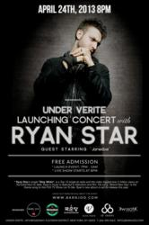 Barn Joo's Under Verite Launching Concert with Ryan Star