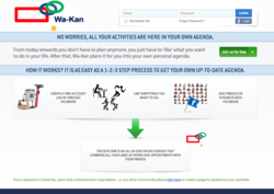 Wa-Kan.com website screenshot