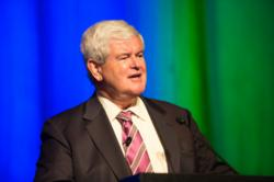 Newt Gingrich, Former Speaker and Presidential Candidate Addresses Neurosciences Conference