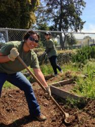 Marstel-Day Supports Arroyo Viejo Community Garden on Earth Day