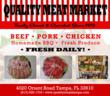 Quality Meat Market, a Local Family Business, Offers Fresh Time Saving...