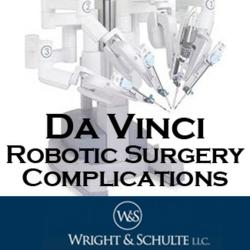 If you or a loved one has been injured by a da Vinci surgical robot contact Wright & Schulte LLC, a leading medical device injury law firm today at 1-888-365-2602 or visit www.yourlegalhelp.com