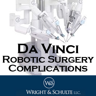 Oh Law Firm >> Da Vinci Robot Lawsuit Lawyers at Wright & Schulte LLC ...