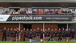 Pipestock.com sponsor Eastleigh Rugby Club 2013/14 - Photo Courtesy of Southern Daily Echo