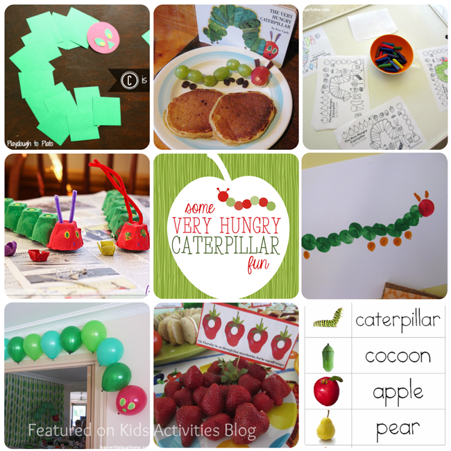 Creative Very Hungry Caterpillar Activity Ideas And A No Sew