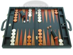 Zaza & Sacci Leather Backgammon Sets