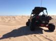 RZR4 Project vehicle taking in the view in Glamis