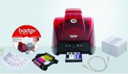 The Evolis Badgy All-in-One ID Card Printer