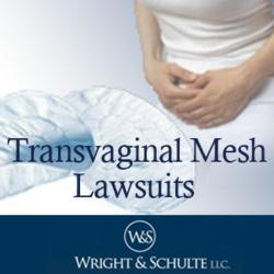 Wright & Schulte LLC offers free lawsuit evaluations to victims of transvaginal mesh injuries following implantation of vaginal mesh. Visit www.yourlegalhelp.com, or call toll-FREE 1-800-399-0795