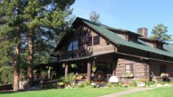 Guests love the glorious lodge at Rainbow Trout Ranch