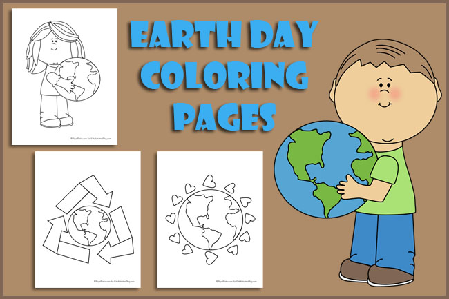 today is earth day teach kids about taking care of mother earth with 14 cute earth day coloring. Black Bedroom Furniture Sets. Home Design Ideas