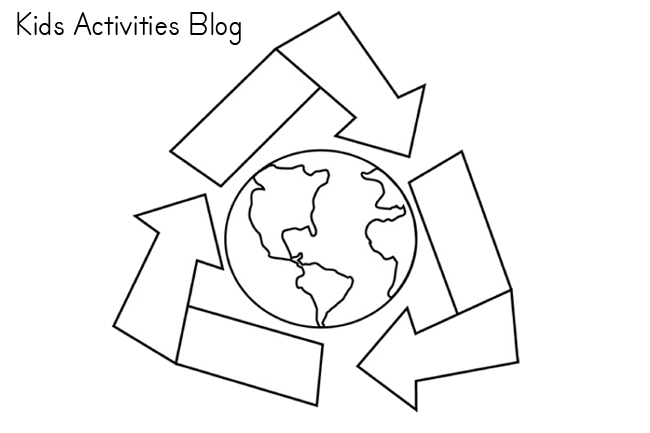 Earth Day Coloring PagesEarth Pages