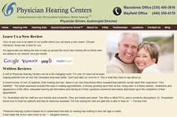 Reviews Page - Physician Hearing Centers - Cleveland Hearing Aids