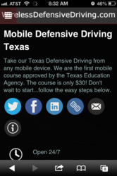 Defensive Driving Texas App
