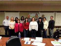 PMP aspirants in Portland attending a 4-day PMstudy PMP boot camp in April 2013