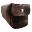 Freeload Accessories Men's Leather Wash Bag in Rustic Brown