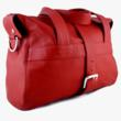 Freeload Accessories Leather Weekend Bag in Red