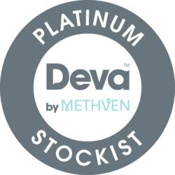 Pioneer Bathrooms is a leading Deva Platinum Stockist