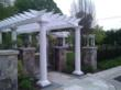 pergola, walkway, entrance