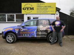 Robert Frampton with Car