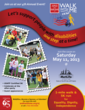 FLYER: Easter Seals NJ 4th Annual Walk With Me & 5k Run at MetLife Stadium, Saturday, May 11th, 2013