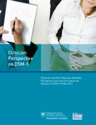 Massachusetts General Hospital Psychiatry Academy and MyCME.com release new survey entitled Clinician Perspective on DSM-5
