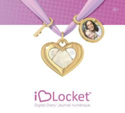 iHeart Locket, Smart Necklace, Digital Diary