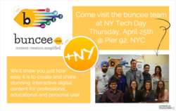 Meet the buncee team at NY Tech Day 2013