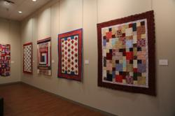 """Quilts of Valor"" is an exhibition running from April 1 – May 31, 2013 that showcases 12 quilts of outstanding beauty and detail."