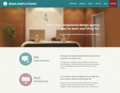 Raleigh web design company Brian Joseph Studios