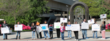 photo of demonstrators supporting prevention of childhood sexual molestation