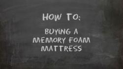 How to Buy a Memory Foam Mattress Guide Released by Mattress Journal