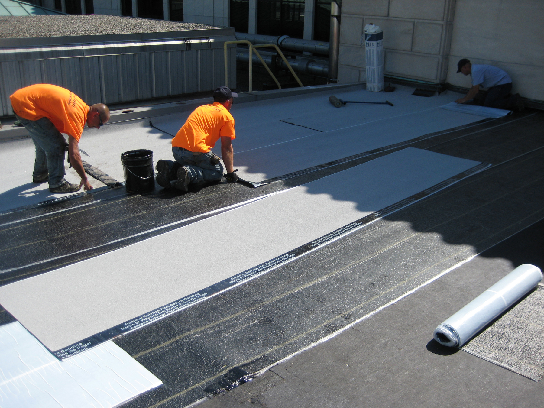 Nice ... Demonstrating Proper Application Procedures For Its Self Adhering  StressPly SA FR Mineral SBS Modified Bitumen Roofing MembraneGarland Canada  Released A ...