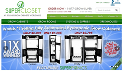 SuperCloset Grow Boxes