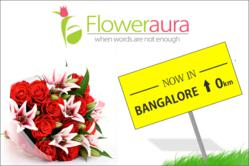 FlowerAura started flower delivery service in Bangalore