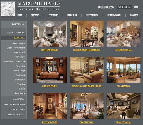 Florida License IB C000158 Marc Michaels Interior Design Website Portfolio Page